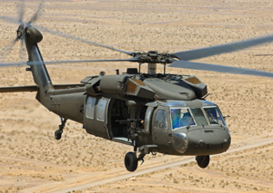 Lockheed Martin Blackhawk helicopter flown by the Alabama Army National Guard