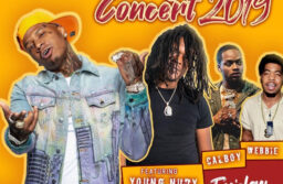 Thumbnail of TU student homecoming concert flyer