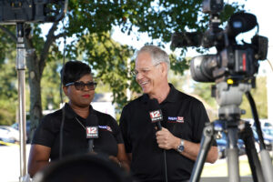Valerie Lawson and John O'Conner, WSFA news anchors